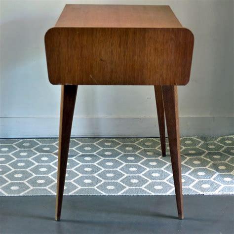 bureaux vintage bureau vintage en bois avec pieds compas lignedebrocante