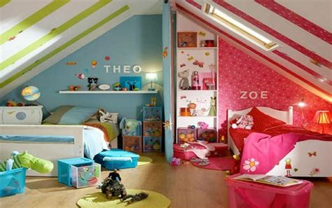 amenager une chambre pour deux enfants photo gallery comment créer deux zones distinctes dans