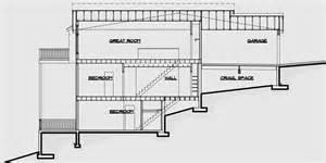 house plans sloped lot multi family sloping lot plans hillside plans daylight