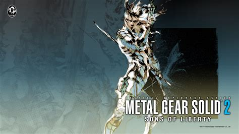 Metal Gear Solid 2 Wallpaper ·①