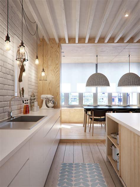 white  wood   trendiest combination  kitchen design