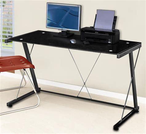 modern tempered glass computer desk desks computer desk modern metal tempered glass