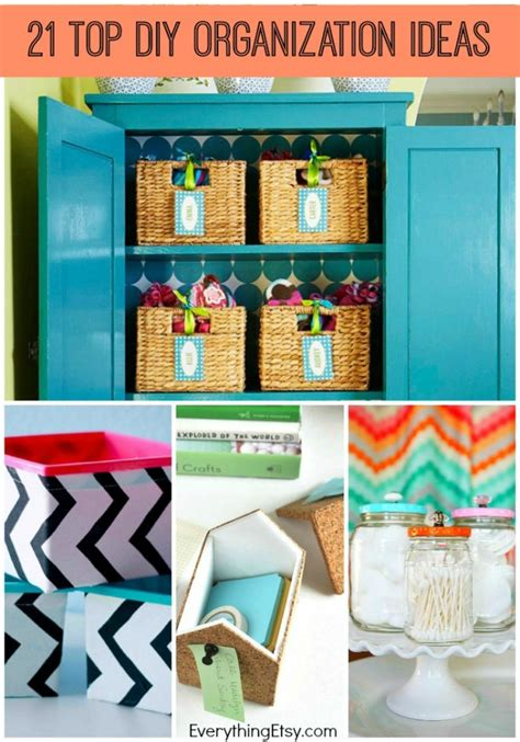 Diy Bedroom Decor And Organization by 21 Top Diy Home Organization Ideas Everythingetsy