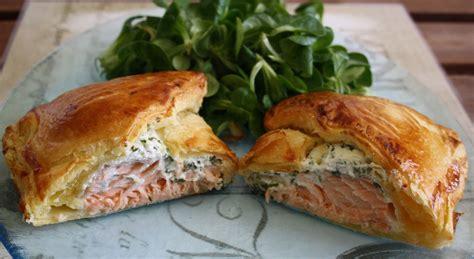 feuillet 233 s au saumon fum 233 et fromage frais toutes les