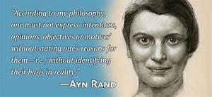 """Ayn Rand Sai... Ayn Rand Philosophy Quotes"