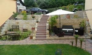 Terrasse Am Hang : lesergarten terrasse ~ Lizthompson.info Haus und Dekorationen