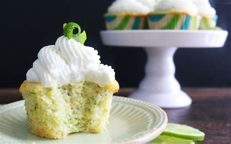 zucchini cardamom cupcakes  lime cream cheese frosting