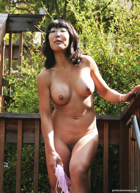 Mature Japanese Flashing In Public Asian Porn Pics And