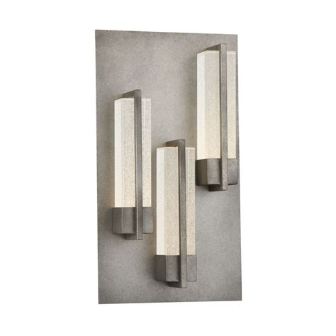 eurofase pari led 3 light outdoor wall sconce 33693 019 the home depot canada