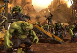 Warhammer Orks camp - Other & Video Games Background ...