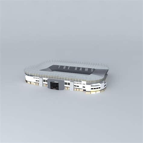 Pride Park Stadium, Derby (High Polygon) free 3D model MAX ...