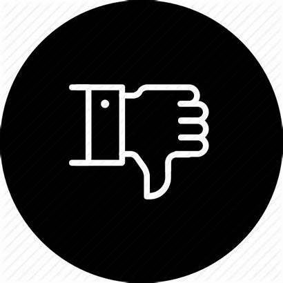 Bad Service Icon Feedback Thumbsdown Dislike Icons