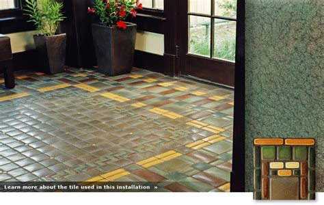 arts and crafts floor l mission patterned tile floor my arts and crafts cottagy