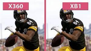 Madden NFL 17 – Xbox 360 vs. Xbox One Graphics Comparison ...