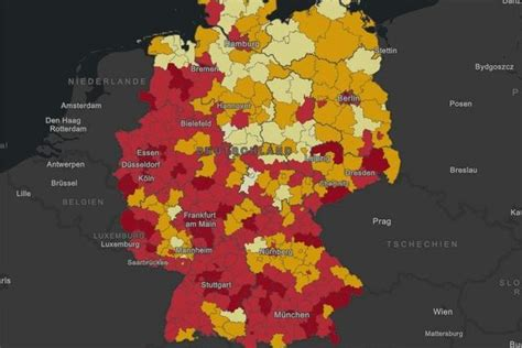 Wie es in ihrem landkreis aussieht, können sie mithilfe unserer interaktiven grafiken selbst ermitteln. Liste der Corona-Risikogebiete in Deutschland: Tageskarte