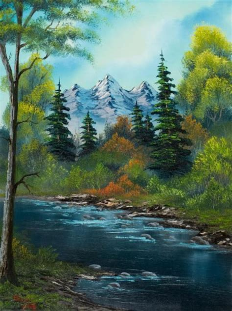 easy landscape painting ideas  beginners