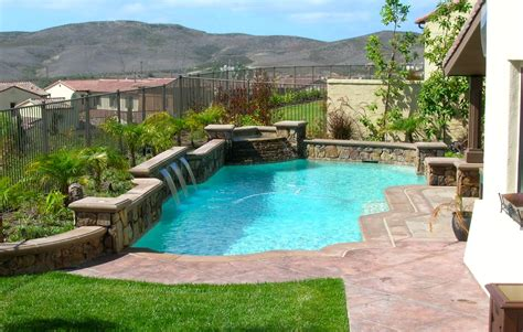 Small Pool Backyard by Pool And Spas Gallery Pool Contractors In Orange County