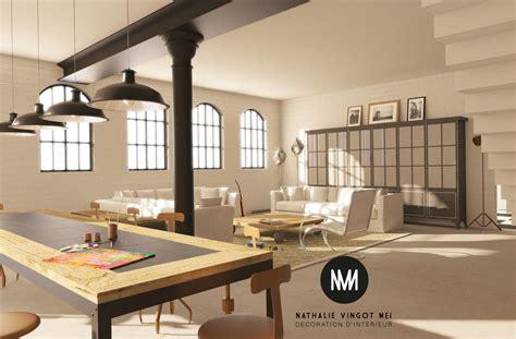 chambre sous les toits décoration et aménagement de loft provence paca