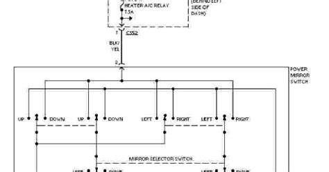 1997 honda civic system wiring diagrams power mirror circuit wiring diagram service manual pdf
