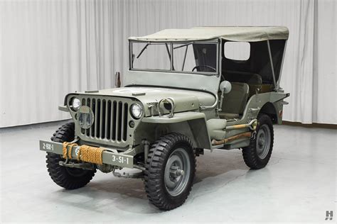 1944 Ford Gpw Jeep Hyman Ltd Classic Cars