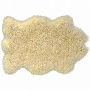 peau de mouton en laine achat vente tapis cdiscount With tapis en mouton