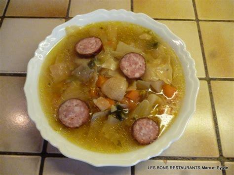 recette de cuisine de nos grand mere la soupe de ma grand mère les bons restaurants