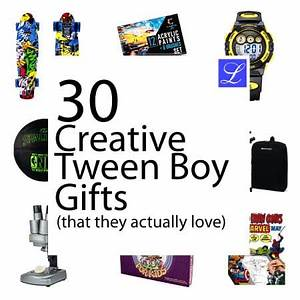 30 Tween Boy Gifts
