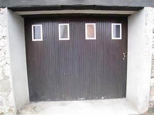 porte de garage et porte a carreaux porte d entree With porte de garage et porte a carreaux