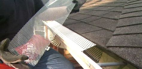 choosing gutter guard covers   home todays homeowner