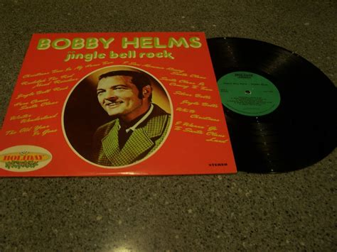 bobby helms christmas bobby helms quot jingle bell rock quot holiday lp ebay