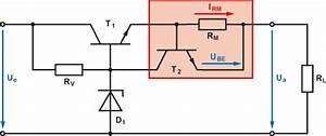 Transistor Basiswiderstand Berechnen : spannungsstabilisierung mit strombegrenzung ~ Themetempest.com Abrechnung