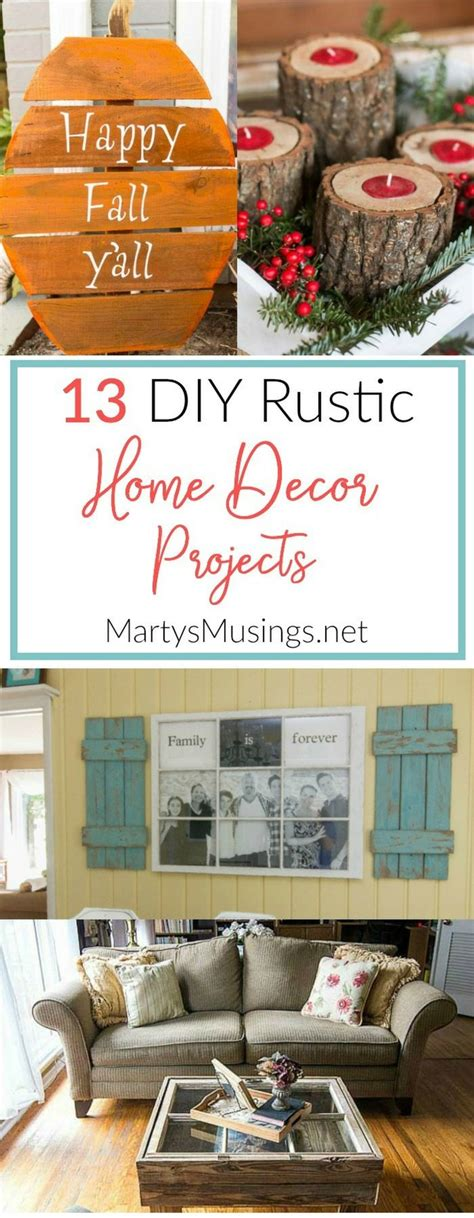 ideas  rustic home decorating  pinterest