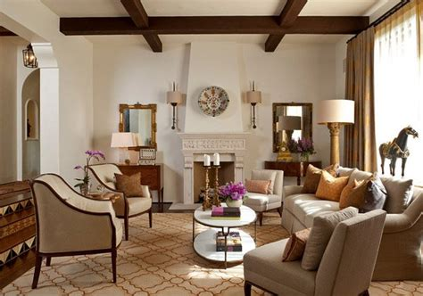 Luxurious Design Of A Mediterranean Living Room