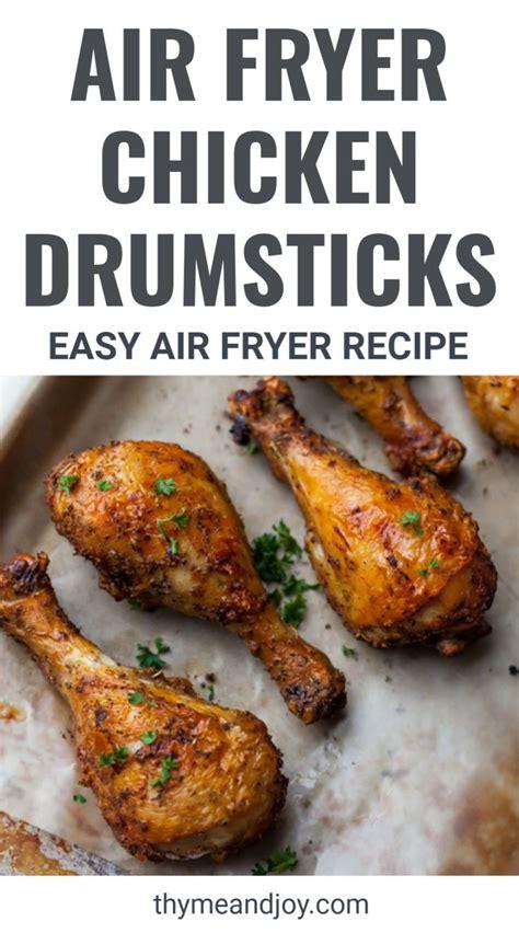 chicken air fryer legs recipe recipes leg drumsticks healthy crispy