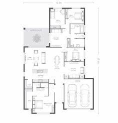 plan maison plain pied 150m2 plans de maisons With attractive plan de maison a etage 6 la maison plain pied moderne archzine fr