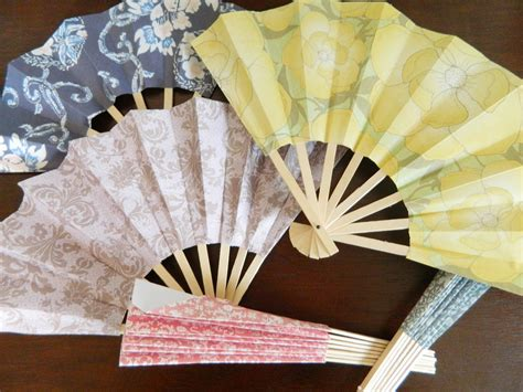 how to make a hand fan with fabric paper pendulum paper fans