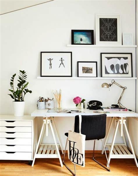 Comment Décorer Un Bureau Laqué Blanc  61 Photos