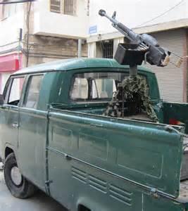 Car with Machine Gun