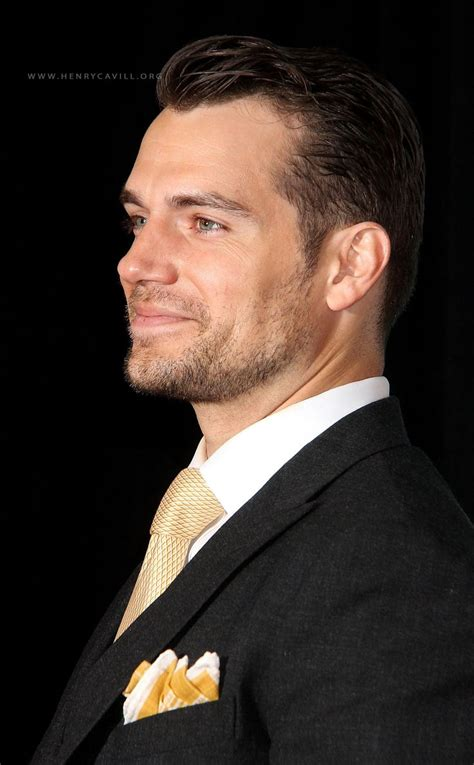 Henry Cavill At The Man From Uncle World Premiere In New