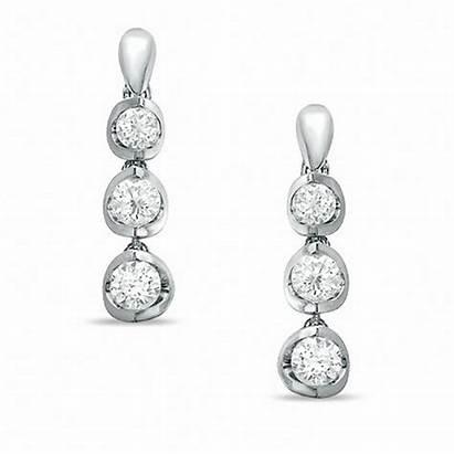 Earrings Diamond Gold Canadian 14k Ct Certified