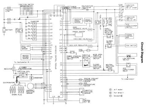 1994 Nissan Wiring Diagram by Repair Guides