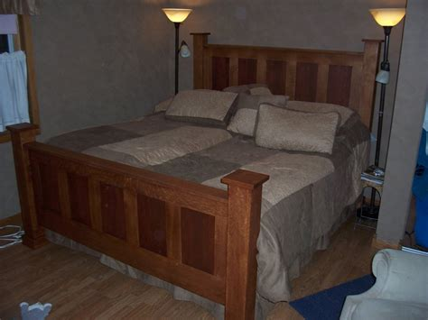 king size headboard and footboard king size headboard and footboard by pesek lumberjocks