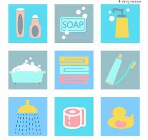 4 Designer Toiletries Icon