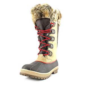 totes womens boots size 9 totes gail womens size 8 textile winter boots no box ebay