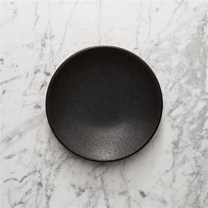 Jars Tourron Black Salad Plate Reviews Crate And Barrel