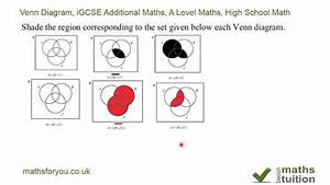 Venn Diagram  Igcse Additional Maths  A Level Maths  High