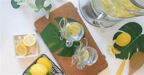 Citronūdens labās īpašības | Ūdens pudele