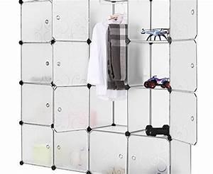Geruch Im Kleiderschrank : langria stufenregal 16 kubus modular lagerregal garderobenschrank kleiderschrank mit ~ Pilothousefishingboats.com Haus und Dekorationen