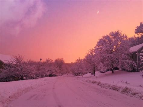Aesthetic Winter Wallpaper by Cdebcbeada Sky View Pink Aesthetic Wallpaper Wp6403502