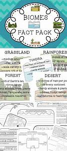 Biomes Habitats Fact Pack Informational Text Passages